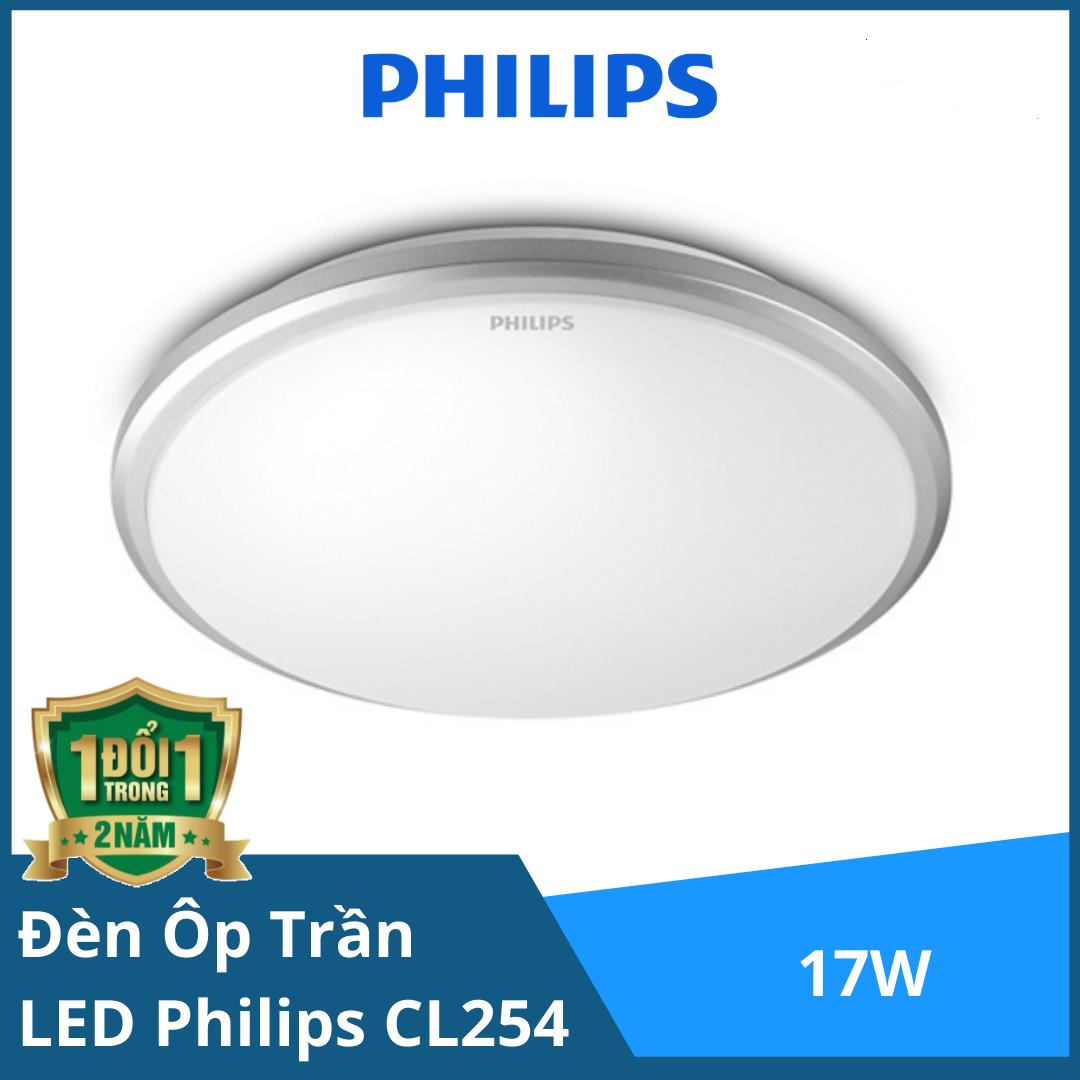 ĐÈN ỐP TRẦN LED PHILIPS CL254 EC RD 17W HV 02